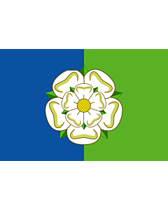 Flag: East Riding of Yorkshire or East Yorkshire
