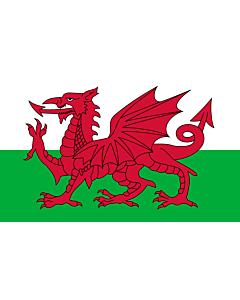 Flag: Wales