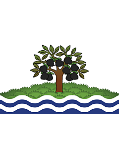 Flag: Worcestershire