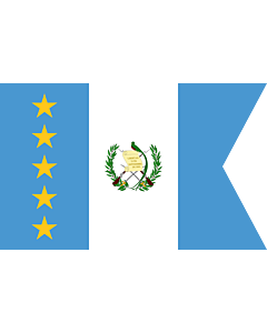 Flag: Vice-President of Guatemala | Vice-presidential flag of Guatemala