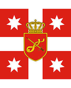 Flag: Georgia. Standard of Chief of General Staff