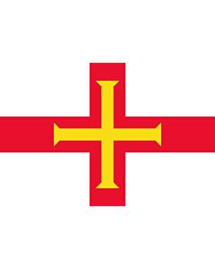 Flag: Guernsey