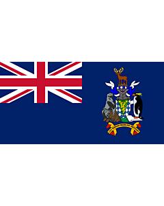 Flag: South Georgia and the South Sandwich Islands
