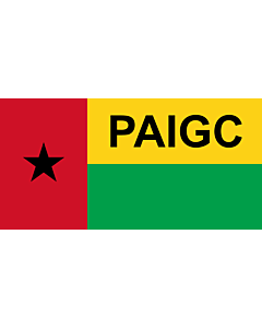 Flag: African Party for the Independence of Guinea and Cape Verde