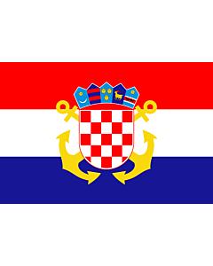 Flag: Naval Ensign of Croatia