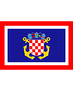 Flag: Naval Jack of Croatia