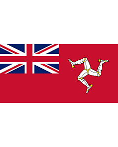 Flag: Civil ensign of the Isle of Man