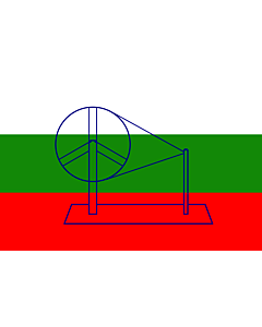Flag: 1921 India | Used by the Indian National Congress in 1921