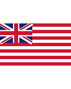 Flag: British East India Company  1801   British East India Company