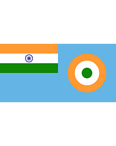 Flag: Ensign of the Indian Air Force