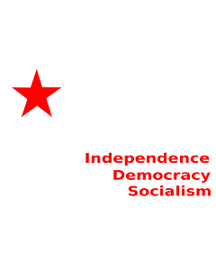 Flag: SFI   English version of the flag of Students  Federation of India