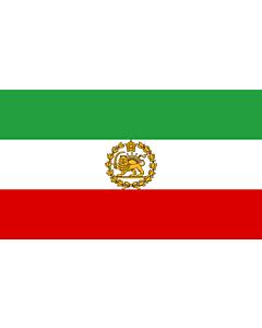 Flag: Naval Ensign of Iran 1964-1979