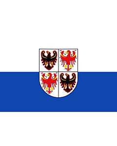 Flag: Trentino-Alto Adige (Südtirol)