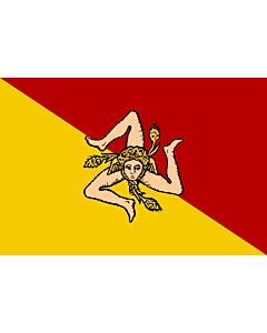Flag: Sicilian Region