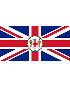 Flag: Governor of Jamaica between 1906 - April 8, 1957