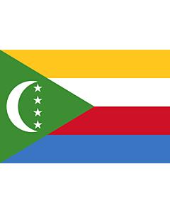 Flag: Comoros