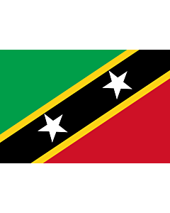 Flag: Saint Kitts and Nevis