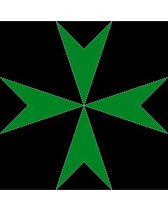 Flag: Order of Saint Lazarus