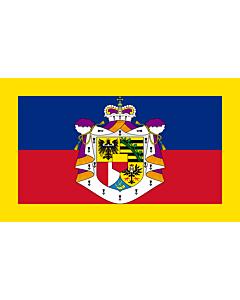 Flag: Standard of the Prince of Liechtenstein
