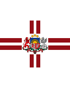 Flag: President of Latvia | That is used by the President of Latvia