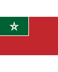 Flag: Merchant flag of Spanish Protectorate of Morocco  NOT the nacional