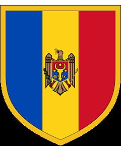 Flag: Scudetto Moldova