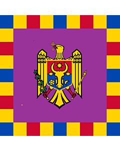 Flag: Standard of the President of Moldova