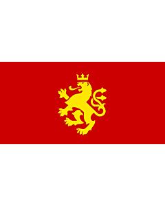Flag: Еthnic Macedonian lion