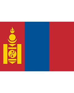 Flag: Mongolia
