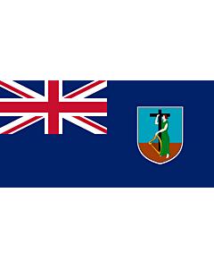 Flag: Montserrat