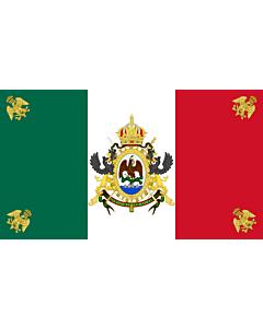 Flag: Mexico  1864-1867