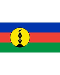 Flag: New Caledonia