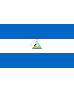 Flag: Nicaragua