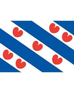 Flag: Friesland