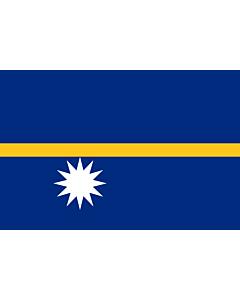 Flag: Nauru