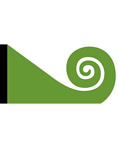Flag: Koru | This image shows the popular Koru Flag