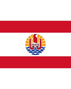 Flag: French Polynesia
