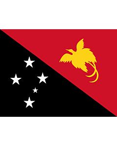 Flag: Papua New Guinea