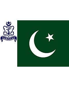 Flag: Naval Standard of Pakistan