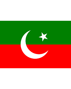 Flag: Pakistan Tehreek-e-Insaf | Pakistan Tehreek-e-Insaf. Created using Inkscape