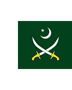 Flag: Pakistan Army
