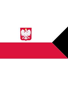 Flag: Naval Ensign of Poland