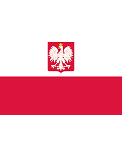 Flag: State flag of Poland