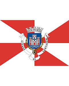 Flag: Santarém District
