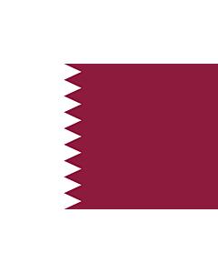 Flag: Qatar