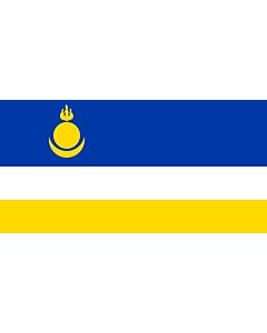 Flag: Republic of Buryatia