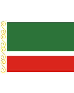 Flag: Chechen Republic