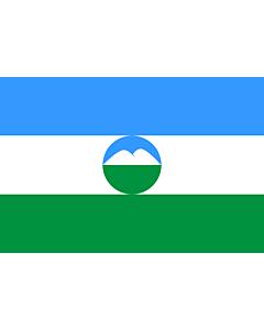 Flag: Kabardino-Balkar Republic