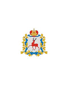 Flag: Nizhny Novgorod Oblast