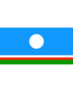 Flag: Sakha (Yakutia) Republic
